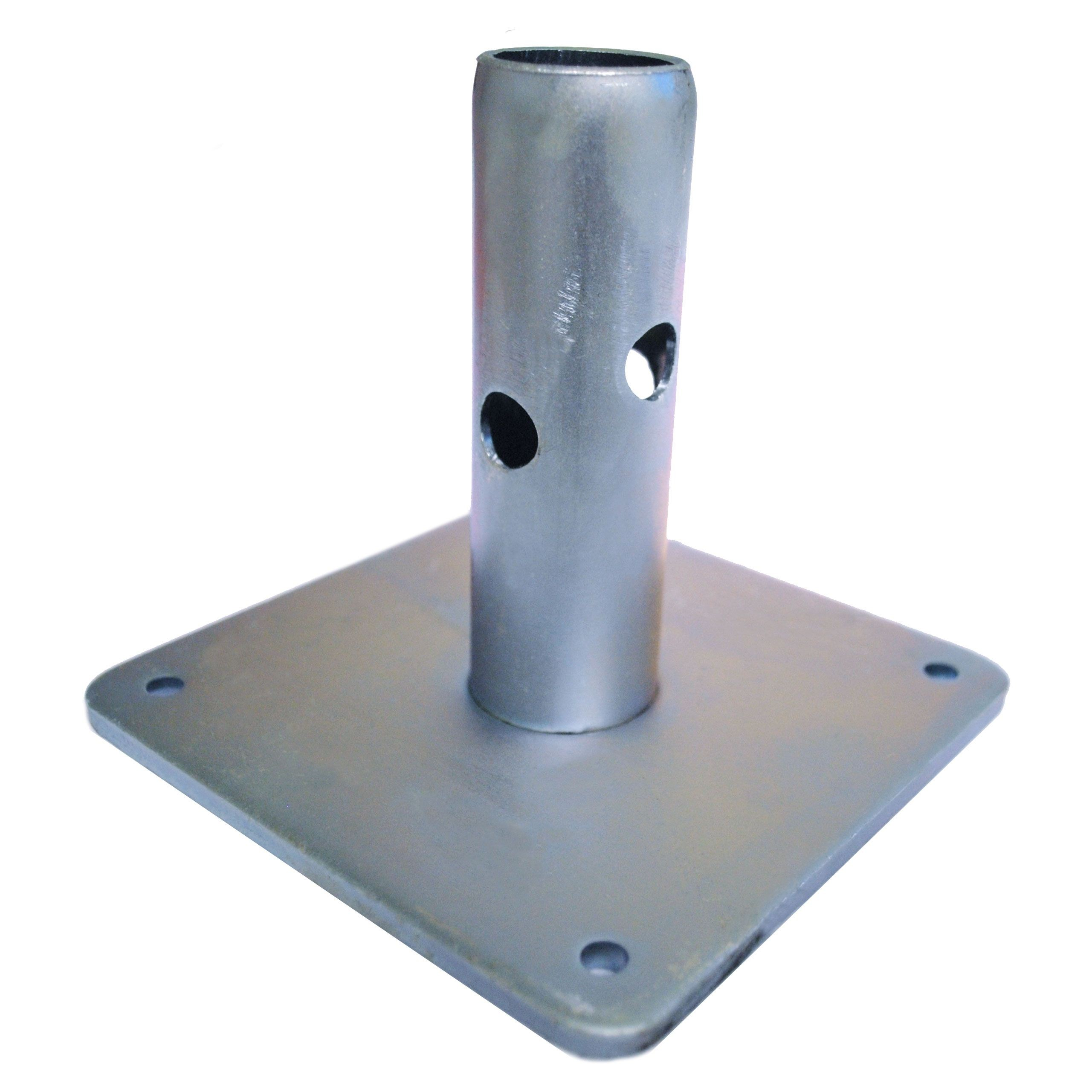 Scaffolding Base Plate-With Pipe