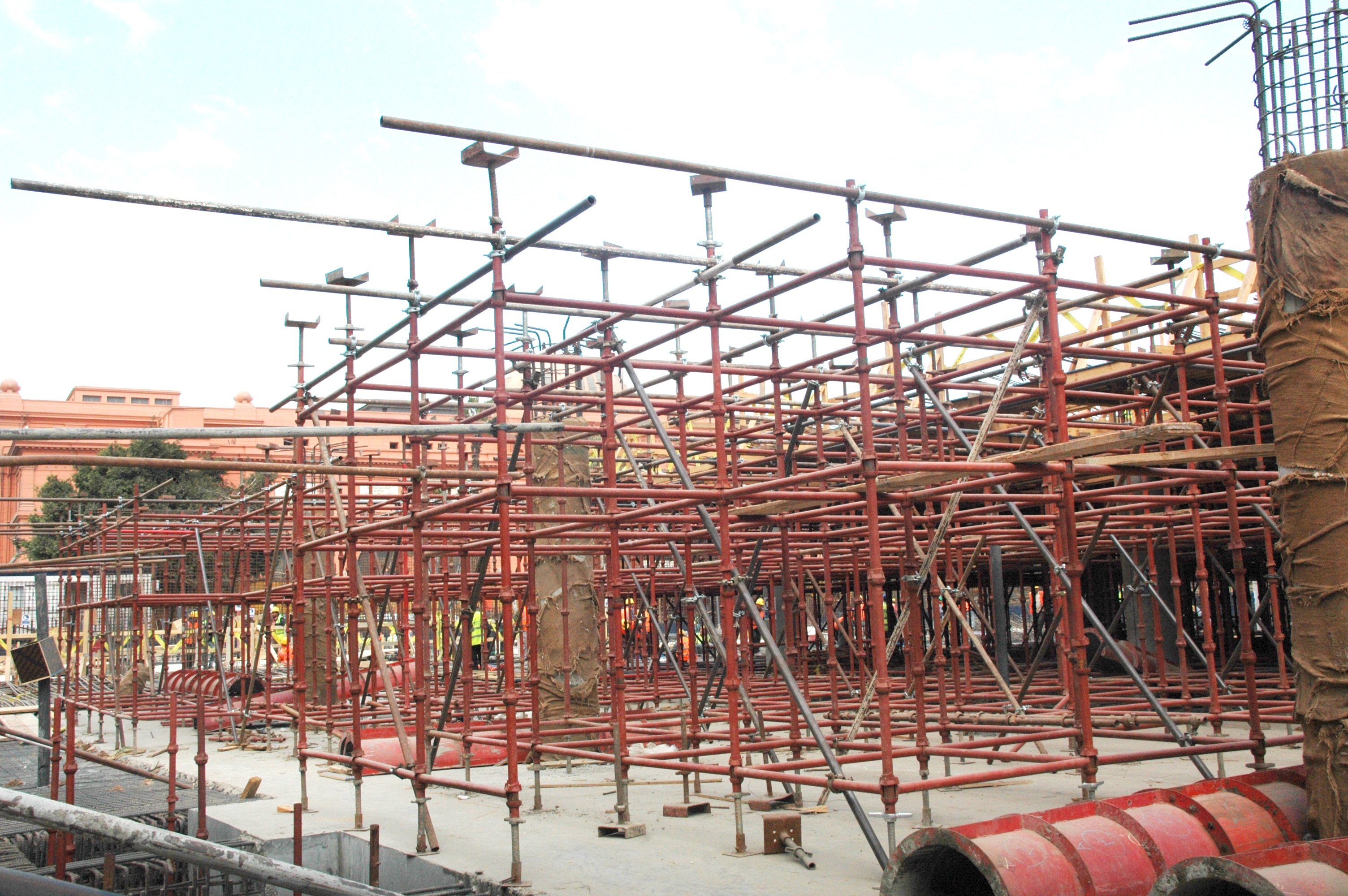 Scaffolding Services With Material